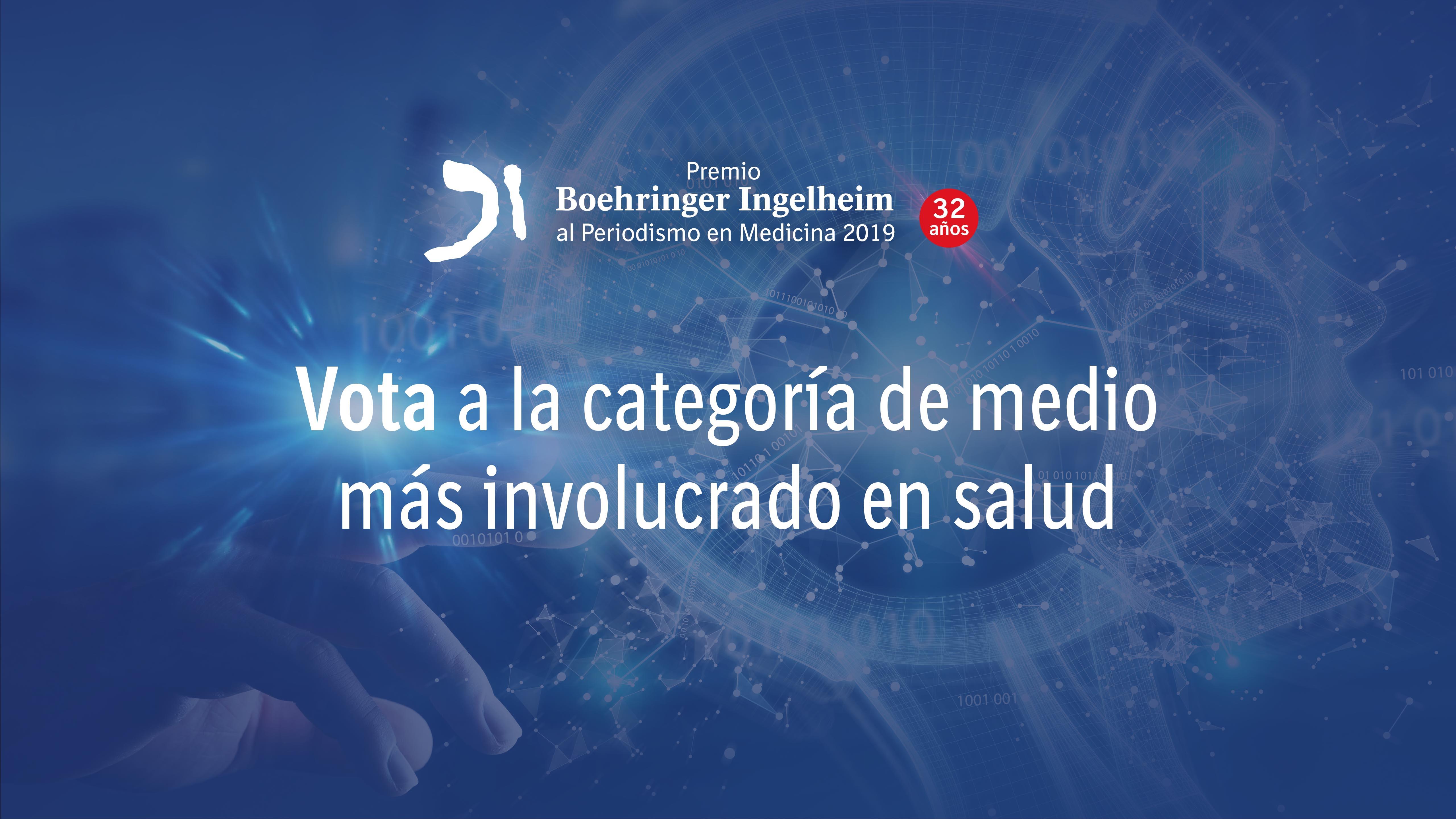 Finalista al Premio especial Boehringer Ingelheim 2019 al Medio más involucrado en comunicación de salud