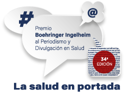 Logo Premio Boehringer Ingelheim al Periodismo en Medicina