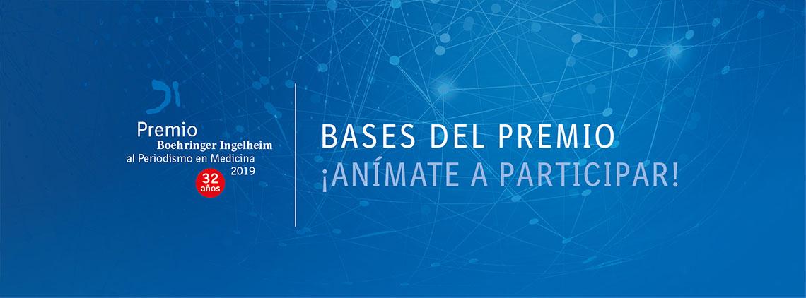 Bases del Premio Boehringer Ingelheim al Periodismo en Medicina 2018