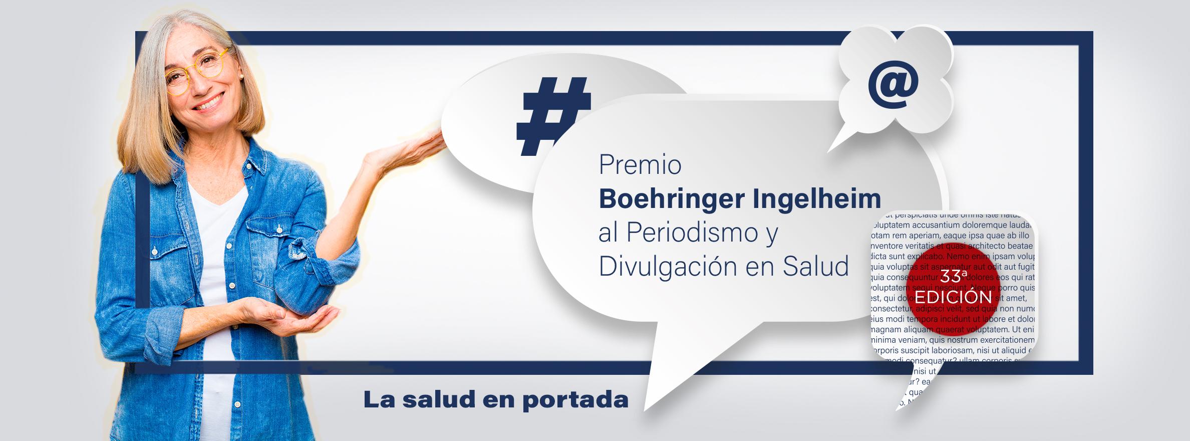 33ª edición del Premio Boehringer Ingelheim al Periodismo y Divulgación en Salud