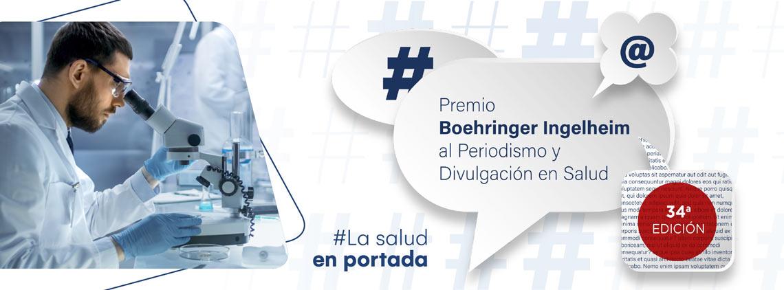 34ª edición del Premio Boehringer Ingelheim al Periodismo y Divulgación en Salud